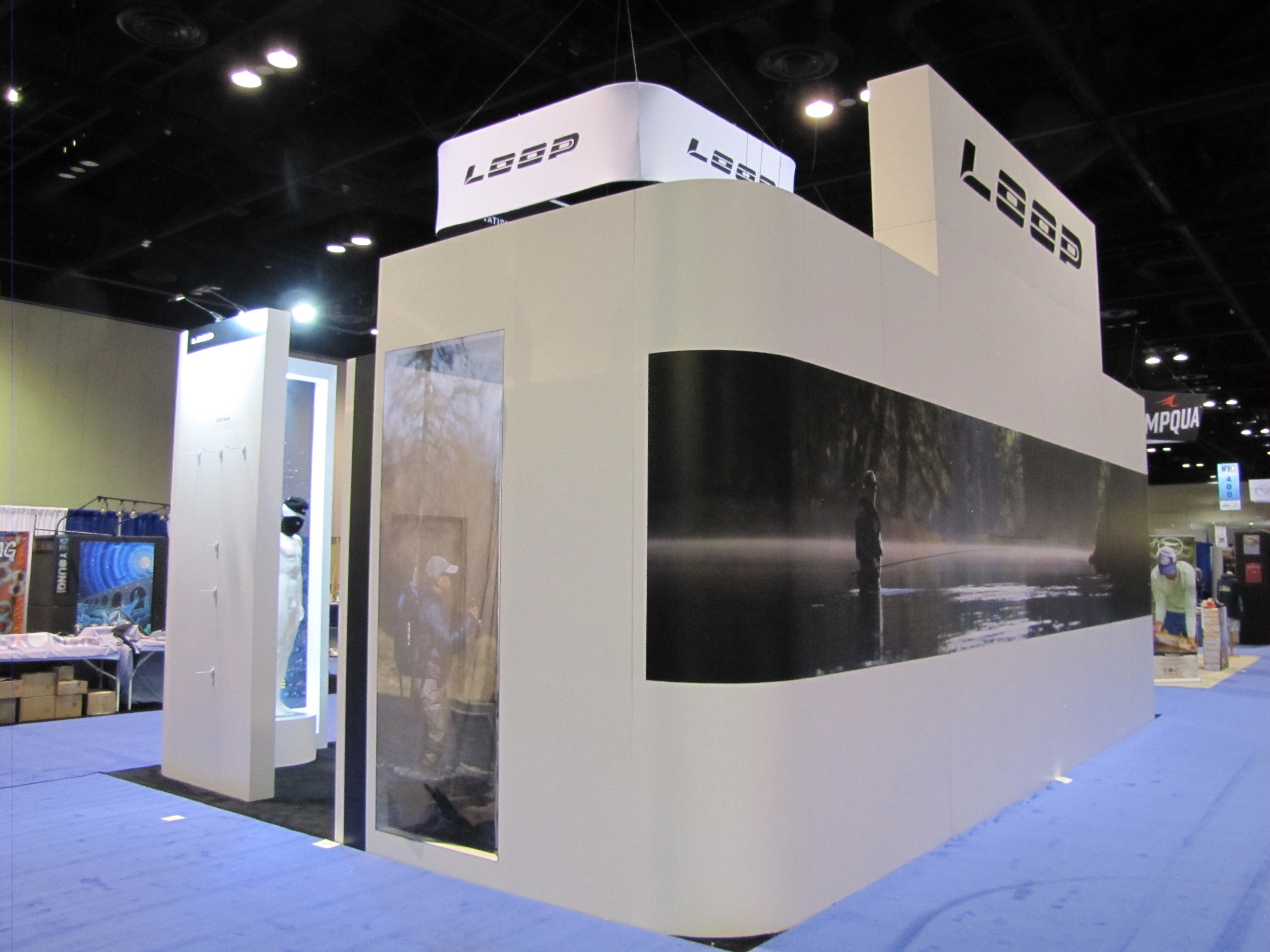 Trade Show Booth Loop : Custom trade show booths displays exhibit table supplies