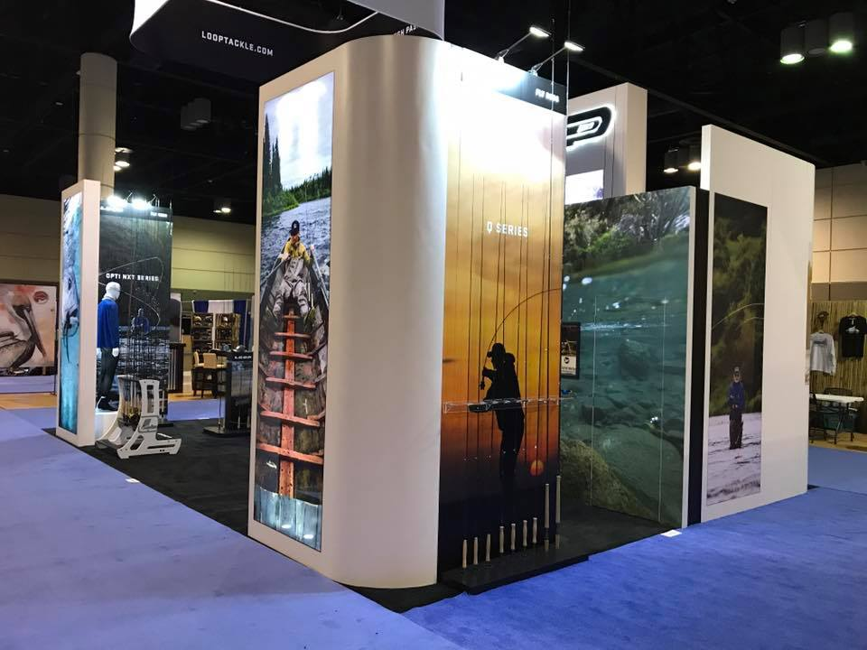 Trade Show Booth Loop : Loop tackle at icast